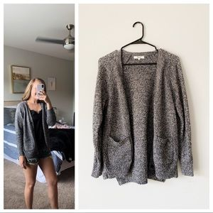 Madewell Charcoal Gray Cardigan